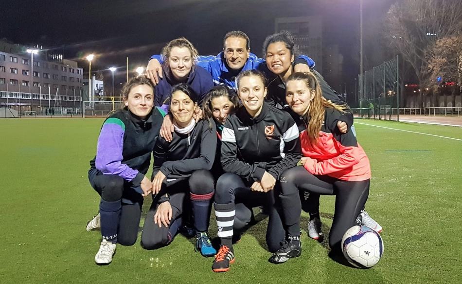 Apsap ville de Paris, équipe féminine
