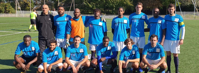 Equipe R1, octobre 2021, match contre Expograph